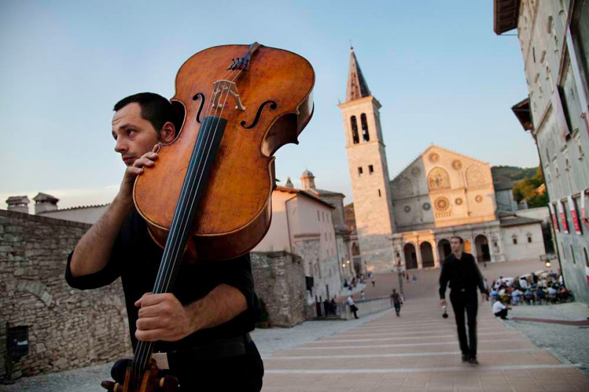 "Spoleto – ""Festival Due Mondi"" (Festival of the Two Worlds), musician"
